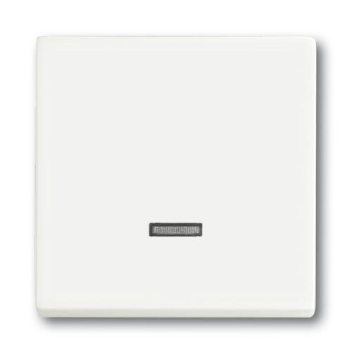 Kryt stmívače s krátkocestným ovladačem, mechová bílá, ABB Future linear