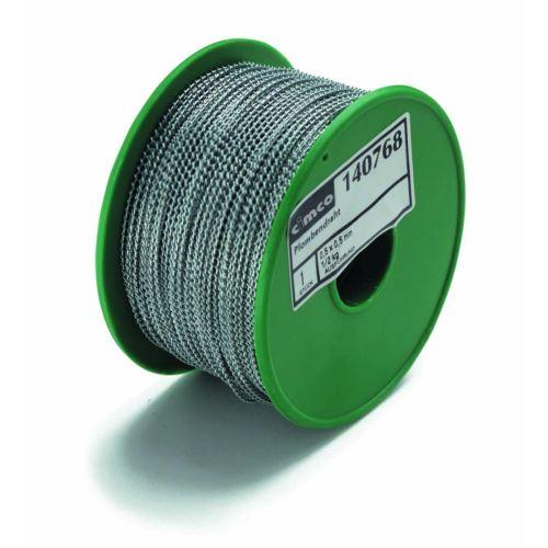 CIMCO 140768  Plombovací drát 0,5 x 0,5 mm (0,5 kg = 115 m)