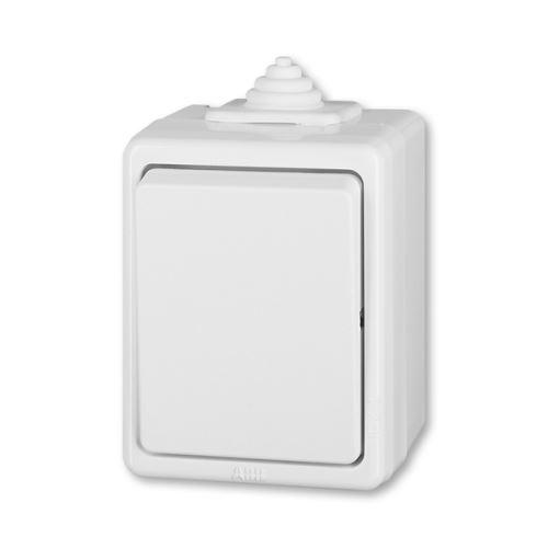 Spínač Praktik jednopólový IP 44 ABB 3553-01929 B