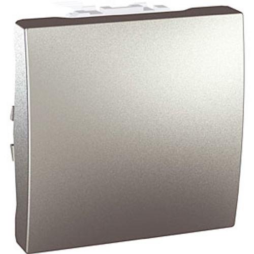 Spínač jednopólový, řazení 1, aluminium Schneider