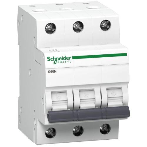 Jistič 3p C  10A  6kA iK60N Acti9  (pro domovní instalace)