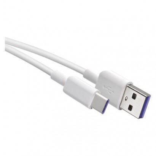 USB kábel 2.0 A / M - C / M 1,5m, biela