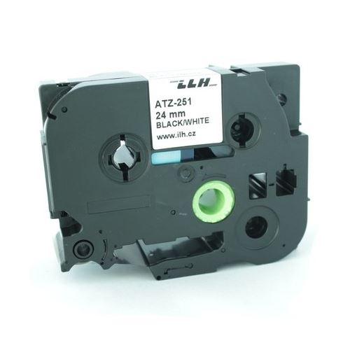 Páska popisovací TZ-631 bílá 24mm