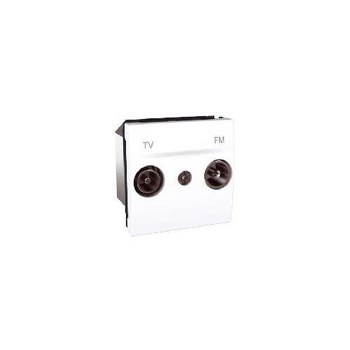Zásuvka TV-R průchozí, 17dB, Polar Schneider