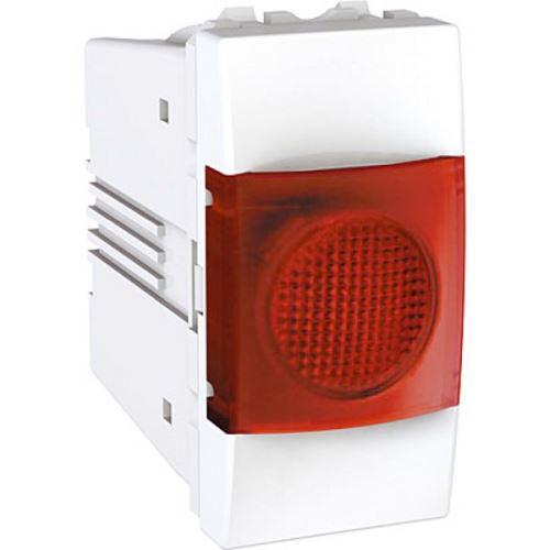 Indikační světlo červené, 1 modul, Polar Schneider