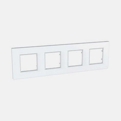 Krycí rámeček Quadro čtyřnásobný, Polar Schneider