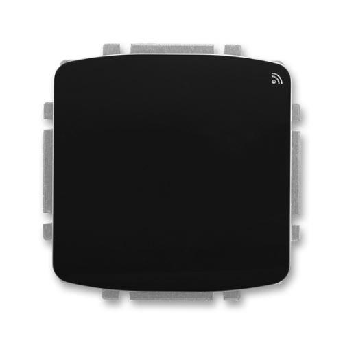 Spínač s krátkocestným ovladačem, s RF přijímačem, 868 MHz, černá, ABB Tango